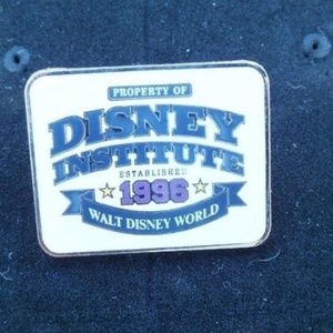 Disney Pin Property Of Disney Institute from 2001